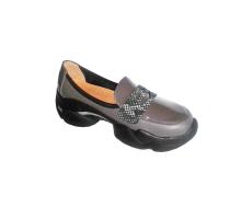 Туфли женские серые