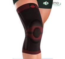 Бандаж коленный c интегрированной кольцевидной силик. вставкой