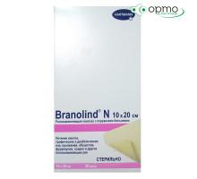 BRANOLIND N  - Повязки с перуанским бальзамом (стерильные): 10 х 20 см; 30 шт./ 1 шт.