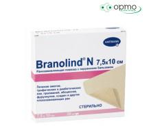 BRANOLIND N  - Повязки с перуанским бальзамом (стерильные): 7,5 х 10 см; 30 шт./1 шт.