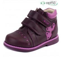 Ботинки на байке коричневые