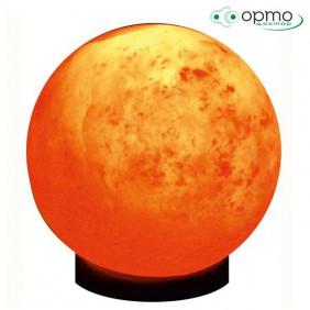 Декоративно-обработанная соляная лампа СФЕРА