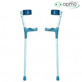 Костыли инвалид. с опорой под локоть двойной регул. с анатом. ручк. BFC A (пара)