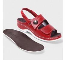 Обувь ортопедическая LM Orthopedic, красный