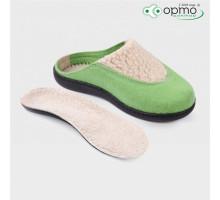 Обувь ортопедическая малосложная LM Orthopedic, туфли домашние, зеленый