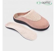Обувь ортопедическая малосложная LM Orthopedic, туфли домашние, пудровый