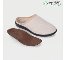 Обувь ортопедическая малосложная LM Orthopedic, туфли домашние, лён