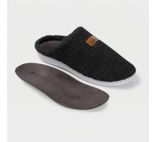 Обувь ортопедическая малосложная LM Orthopedic, туфли домашние, черный