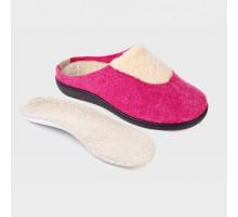 Обувь ортопедическая малосложная LM LUOMMA, туфли домашние малиновый