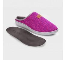 Обувь ортопедическая малосложная LM LUOMMA, туфли домашние,жаккард пурпур