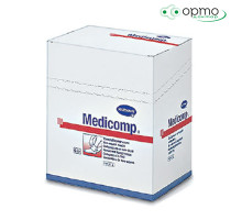 MEDICOMP steril - Салфетки из нетканого материала (стерильные): 5 х 5 см; 2 шт.