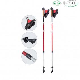 Палки  для скандинавской ходьбы телескопические AQD-B015