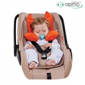 Подушка дорожная AUTOFOX с подголовником для детей от 0 до 2 лет