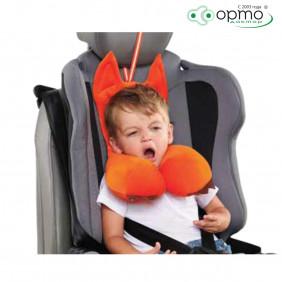Подушка дорожная AUTOFOX с подголовником для детей от 2 до 4 лет