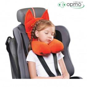 Подушка дорожная AUTOFOX с подголовником для детей от 4 до 8 лет